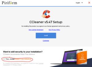 cccleaner computer sneller werken